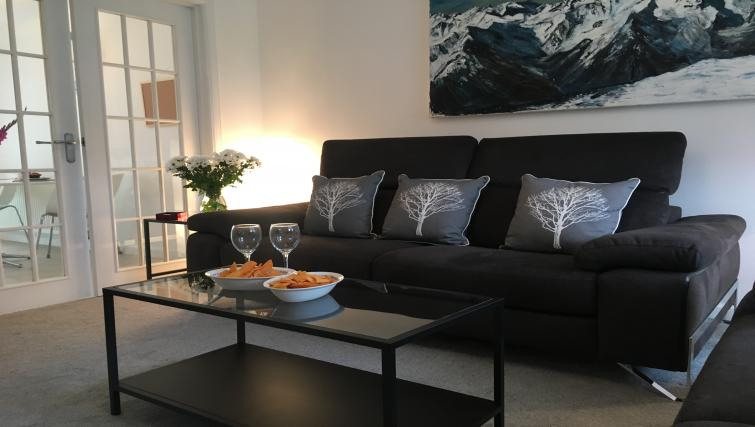 Living area at Brambling House - Citybase Apartments