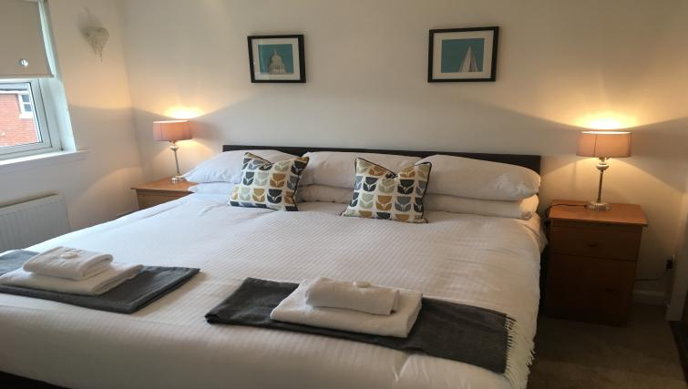 Bedroom at Brambling House - Citybase Apartments