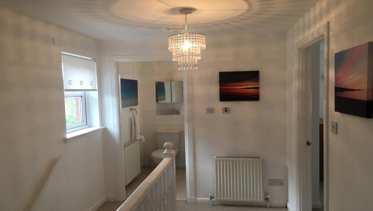 Hallway at Brambling House - Citybase Apartments