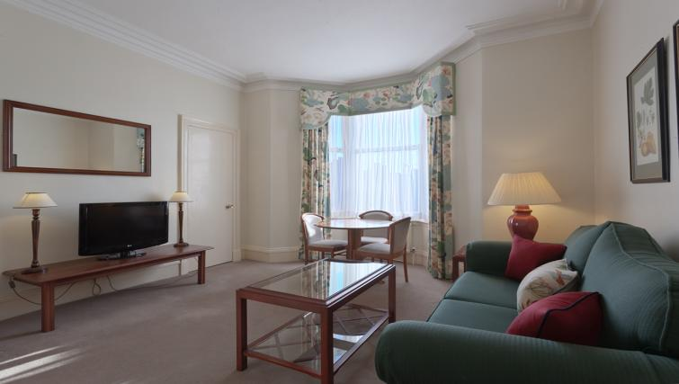 Lounge at Skene House Whitehall Apartments - Citybase Apartments