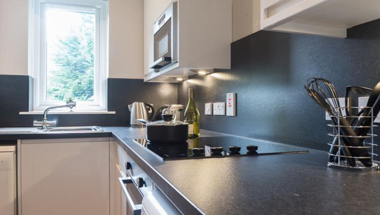 Kitchen at Skene House Whitehall Apartments - Citybase Apartments