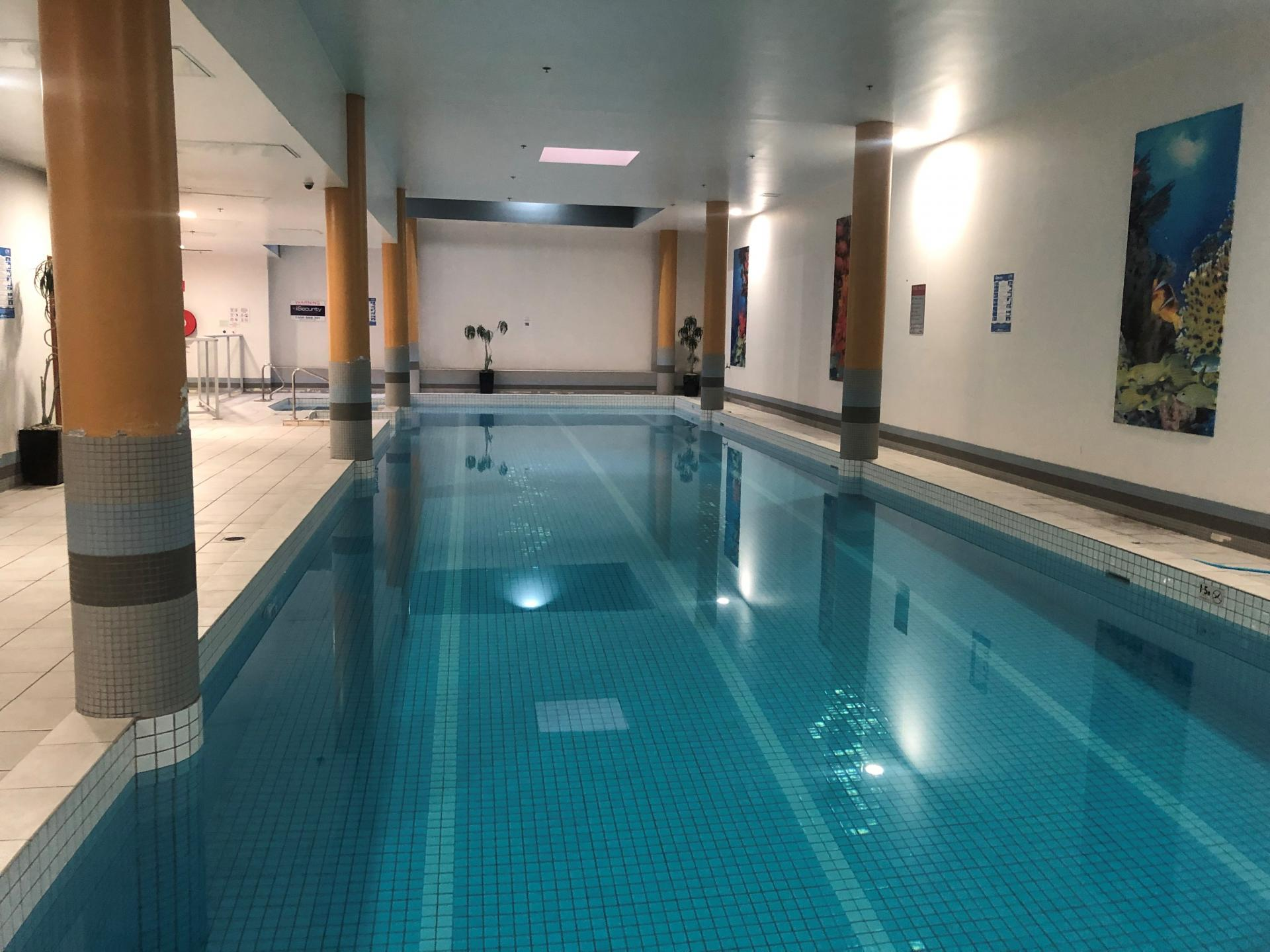 Pool at Chinatown Central Apartments - Citybase Apartments