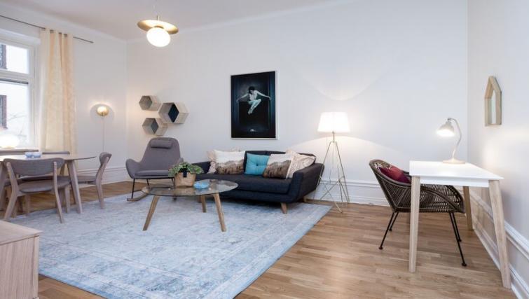 Living space at Upplandsgatan 61 Apartments - Citybase Apartments