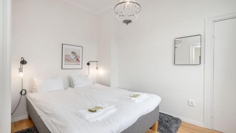 Bedroom at Upplandsgatan 61 Apartments - Citybase Apartments
