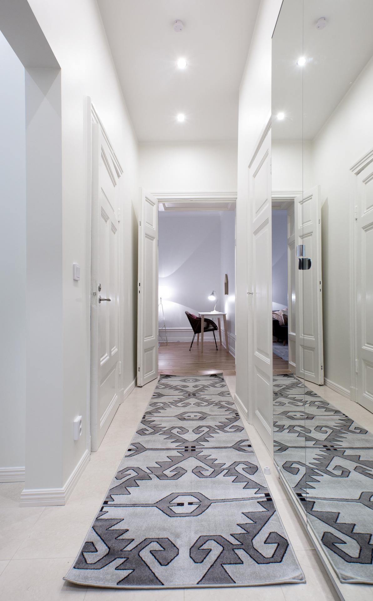 Hallway at Upplandsgatan 61 Apartments - Citybase Apartments