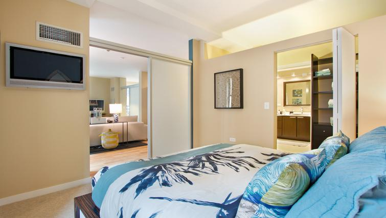 Bedroom at Randolph Tower Apartment - Citybase Apartments