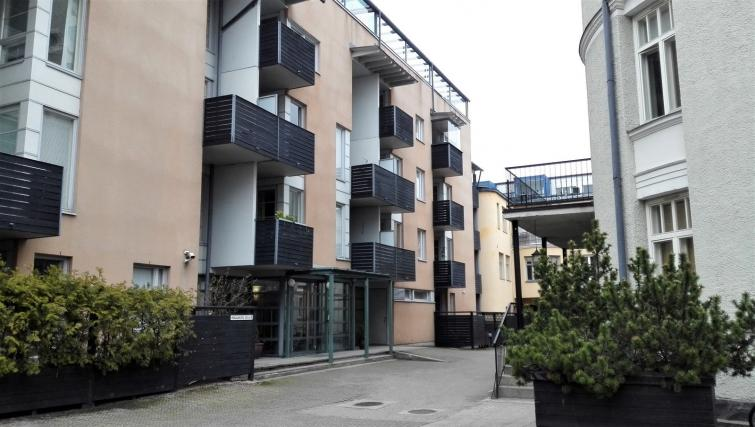 Exterior at the Koulukatu Apartment - Citybase Apartments
