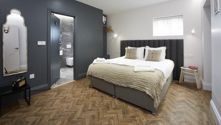 Bedroom at the Hideout Hotel Hull - Citybase Apartments