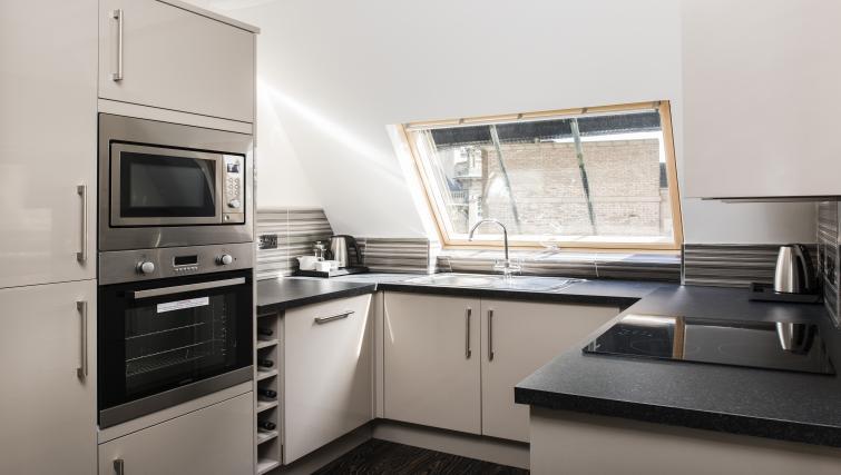 Kitchen at Vermont Aparthotel - Citybase Apartments
