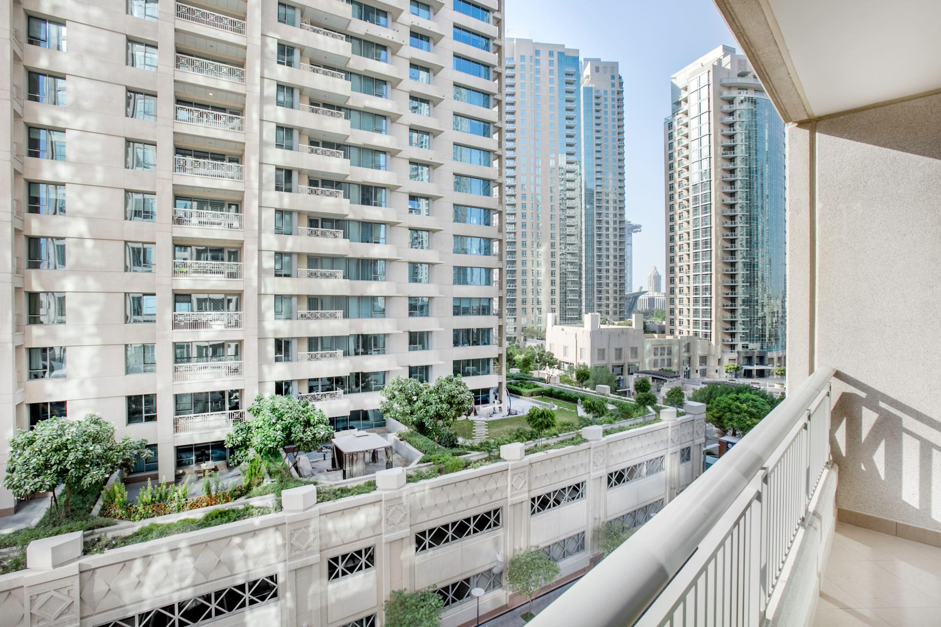 Balcony at Boulevard Central Apartment - Citybase Apartments