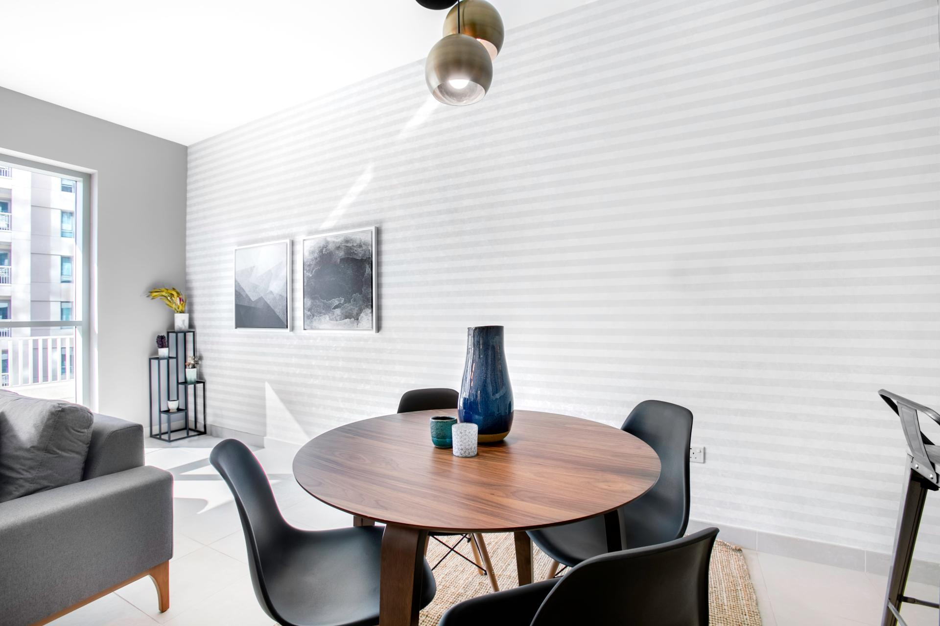 Dining area at Boulevard Central Apartment - Citybase Apartments