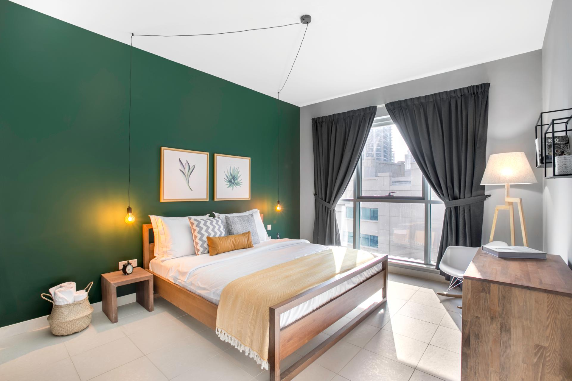Bedroom at Boulevard Central Apartment - Citybase Apartments