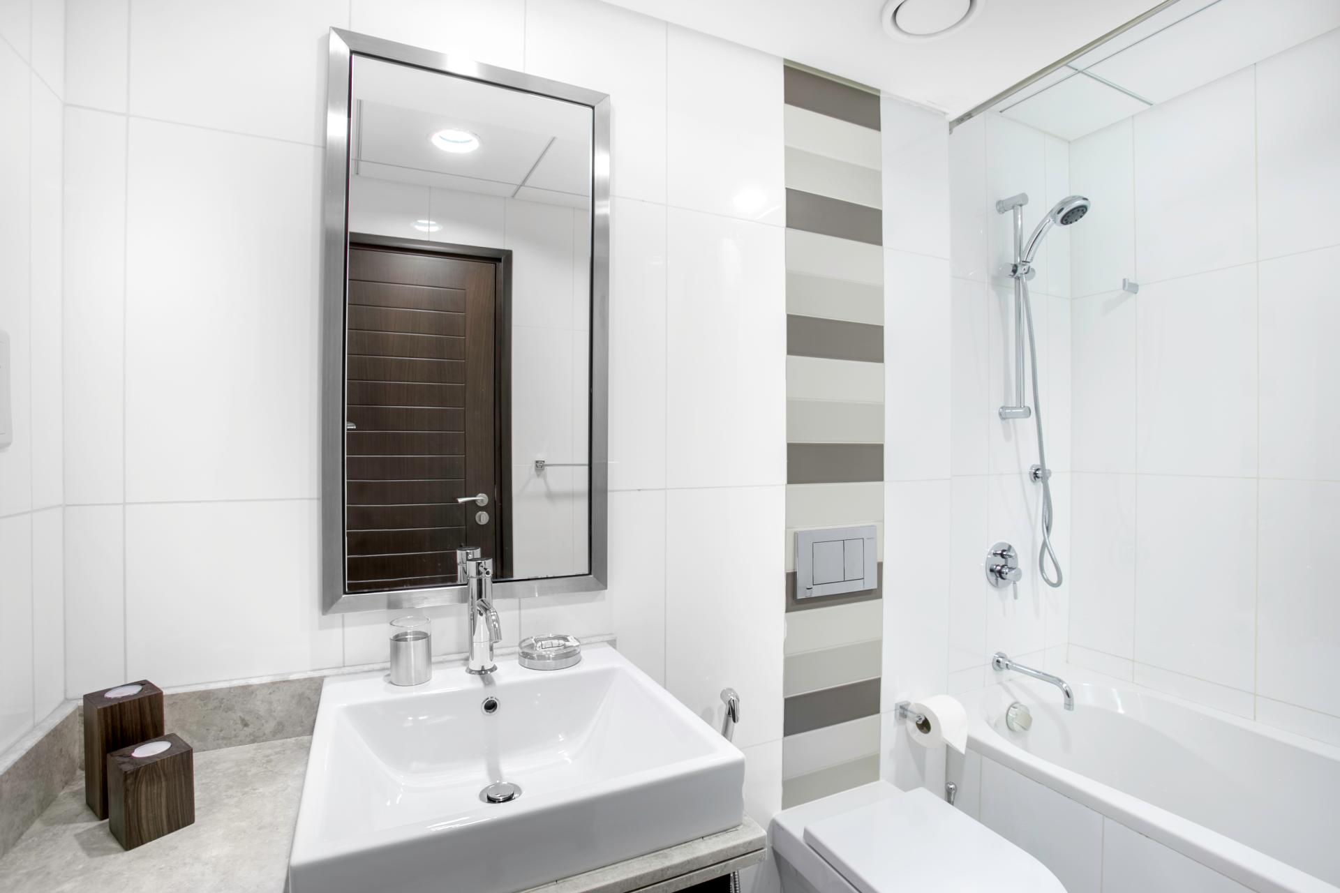 Shower at Boulevard Central Apartment - Citybase Apartments