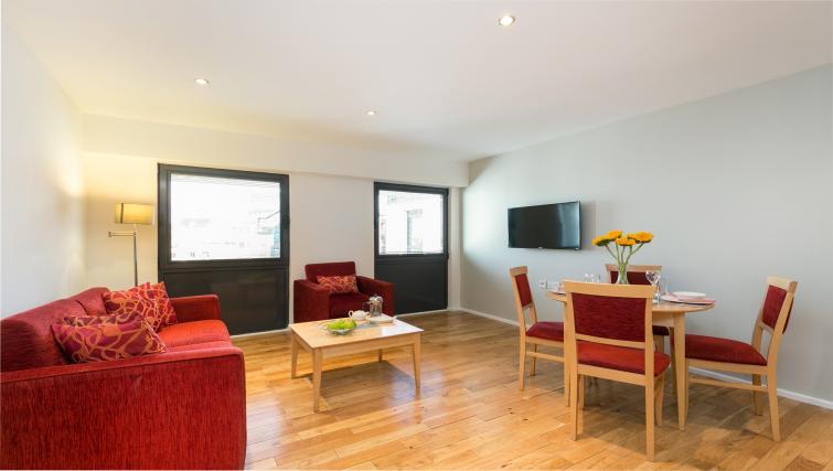 Living room at Maida Vale Aparthotel - Citybase Apartments
