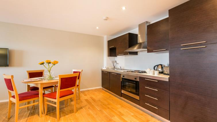 Kitchen facilities at Maida Vale Aparthotel - Citybase Apartments