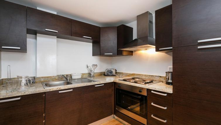 Kitchen at Maida Vale Aparthotel - Citybase Apartments