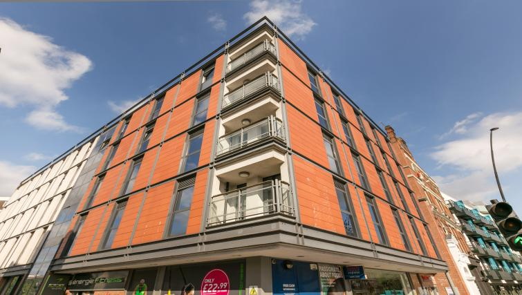 Exterior of Maida Vale Aparthotel - Citybase Apartments