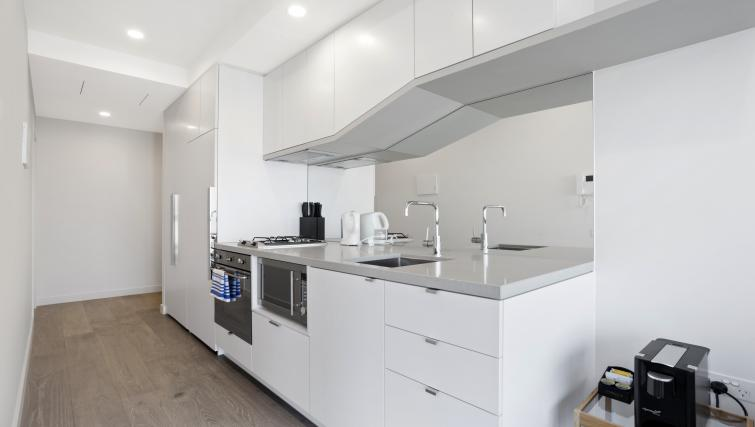 Kitchen at Platinum City Serviced Apartments - Citybase Apartments