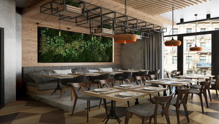 Restaurant at Lwowska 1 Aparthotel - Citybase Apartments