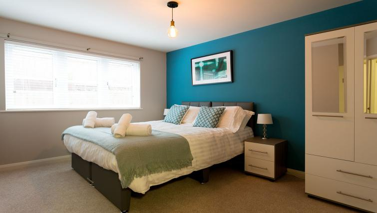 Bed at the Beech Lodge Apartments - Citybase Apartments
