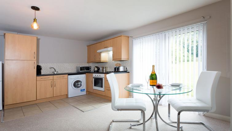 Kitchen at the Beech Lodge Apartments - Citybase Apartments