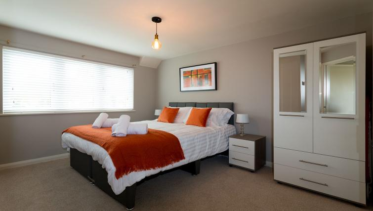 Bedroom at the Beech Lodge Apartments - Citybase Apartments