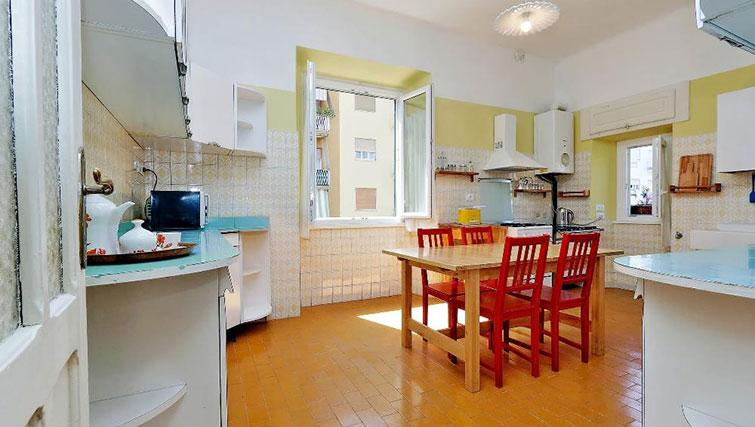 Equipped kitchen at Magnagrecia Apartments - Citybase Apartments