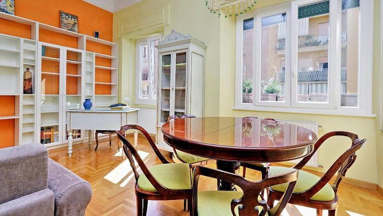 Dining area at Magnagrecia Apartments - Citybase Apartments