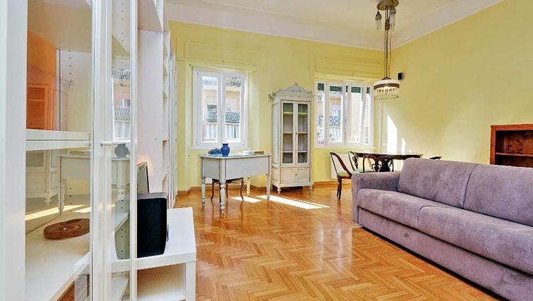 Living room at Magnagrecia Apartments - Citybase Apartments