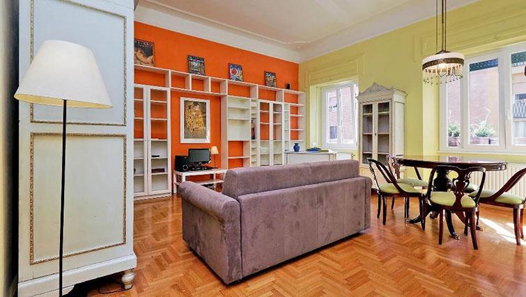 Living area at Magnagrecia Apartments - Citybase Apartments