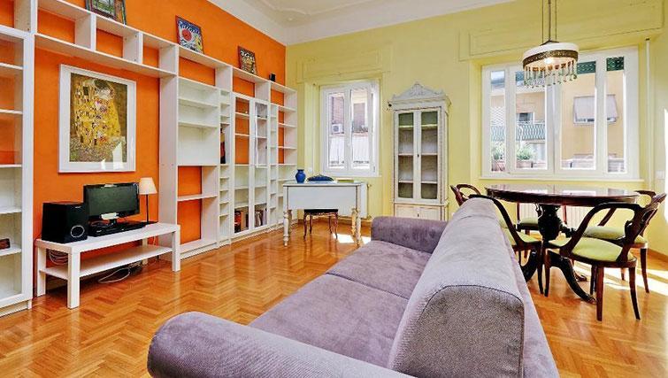 Living space at Magnagrecia Apartments - Citybase Apartments