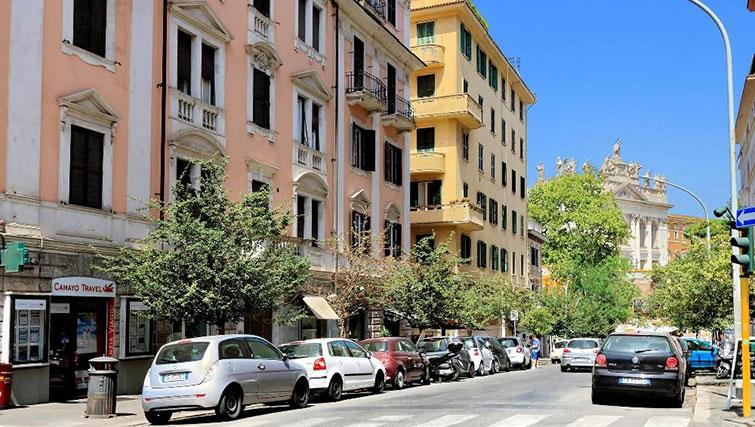 Exterior of Magnagrecia Apartments - Citybase Apartments