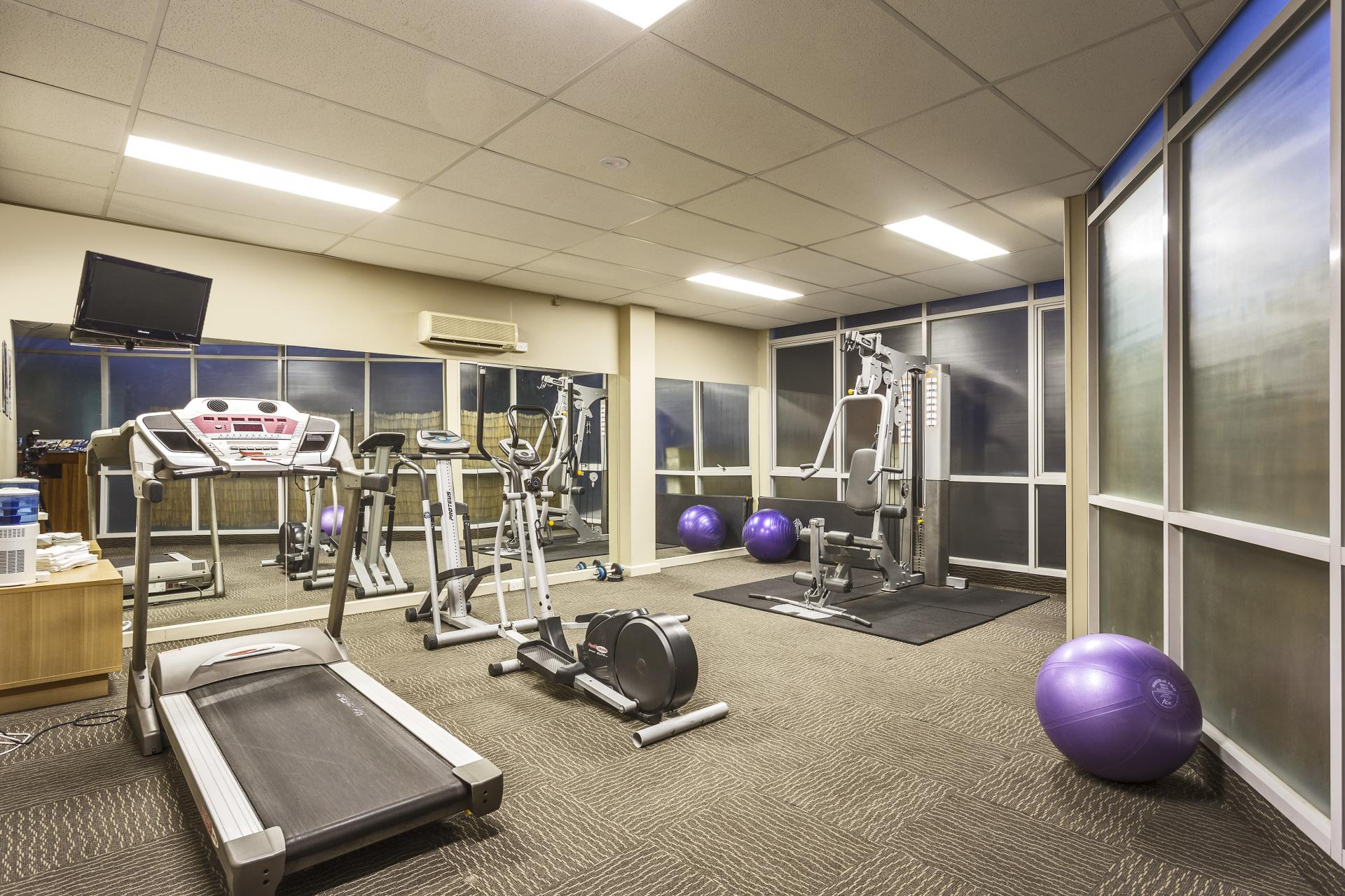 Gym at Quest St Kilda Bayside Apartments - Citybase Apartments