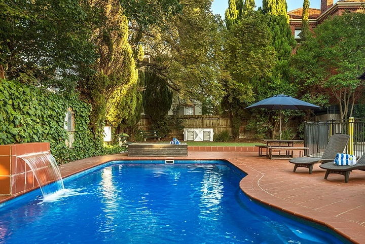 Pool & BBQ at Quest St Kilda Bayside Apartments - Citybase Apartments