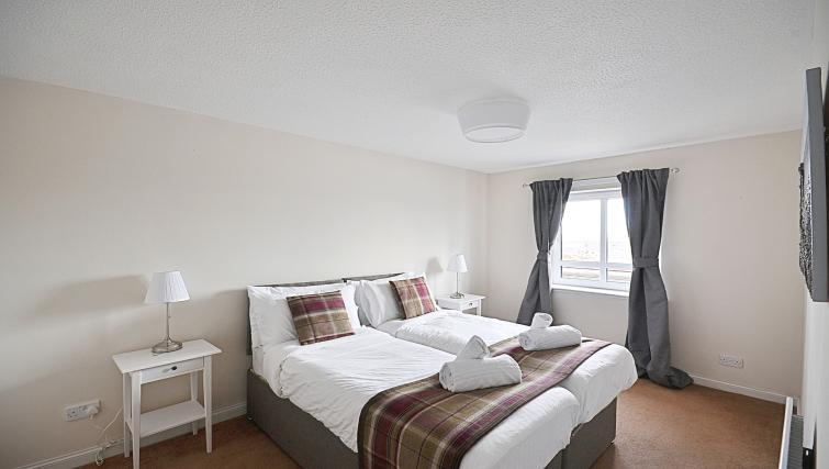 Beds at the Rowallan Residence - Citybase Apartments