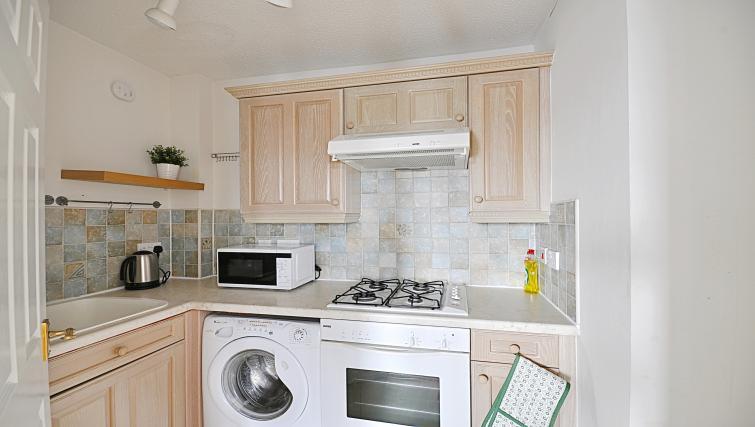 Kitchen at the Rowallan Residence - Citybase Apartments