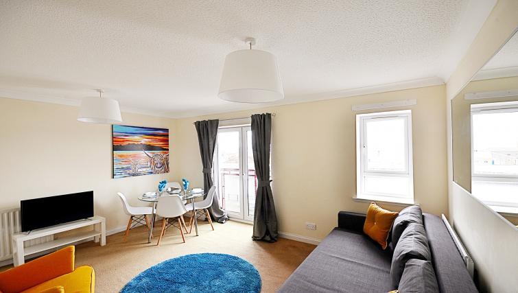 Lounge at the Rowallan Residence - Citybase Apartments