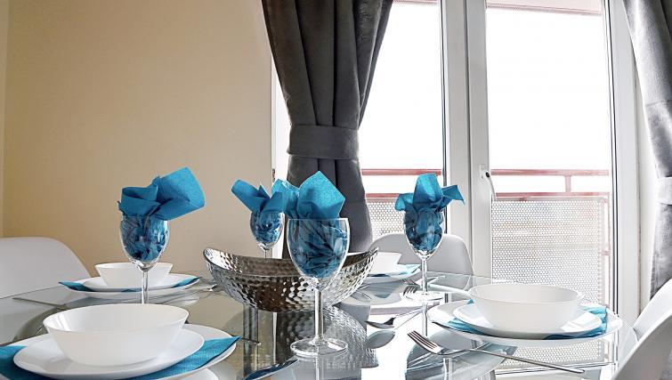 Dining area at the Rowallan Residence - Citybase Apartments