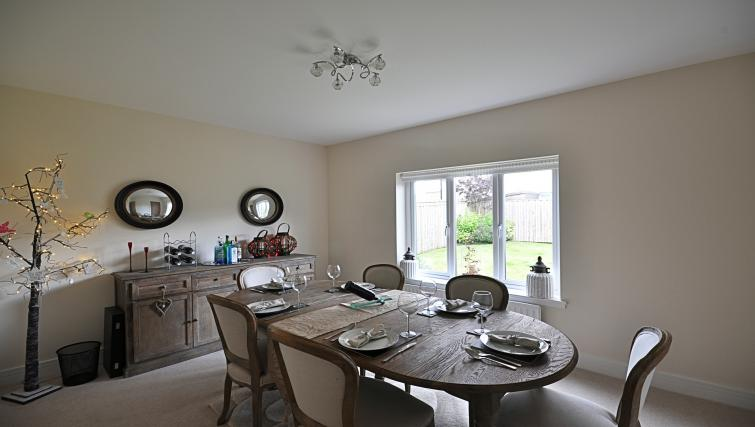 Dining area at Kirk Green Villa - Citybase Apartments