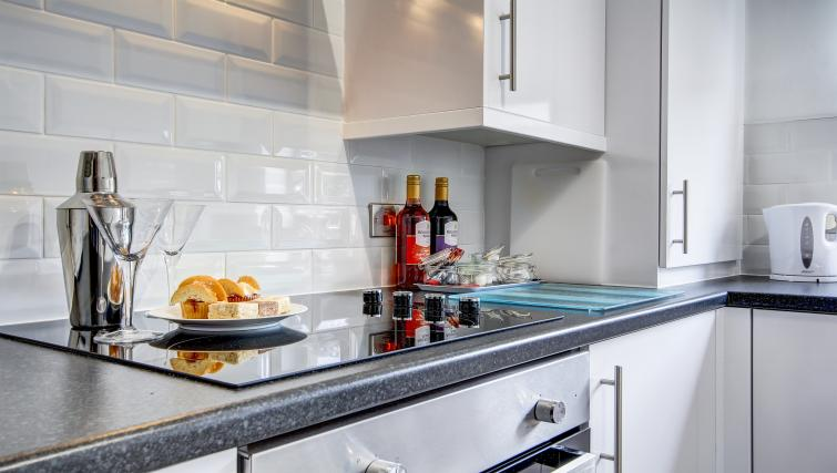Kitchen facilities at the Maryfield Residence - Citybase Apartments