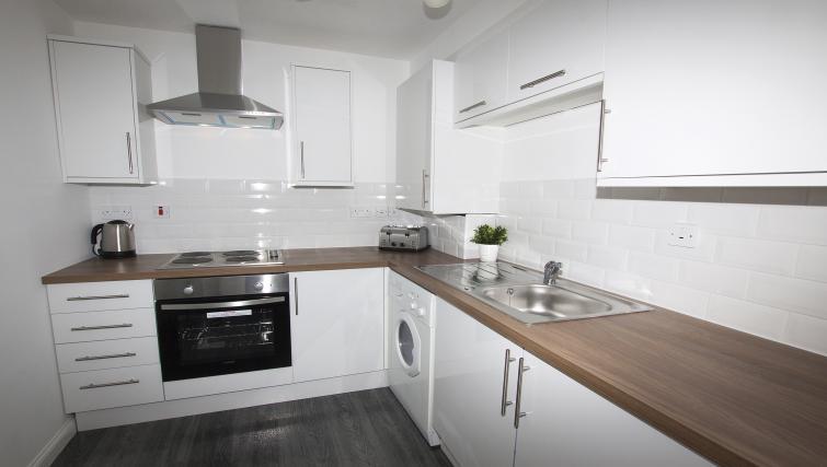 Kitchen at the No 37 Apartment - Citybase Apartments