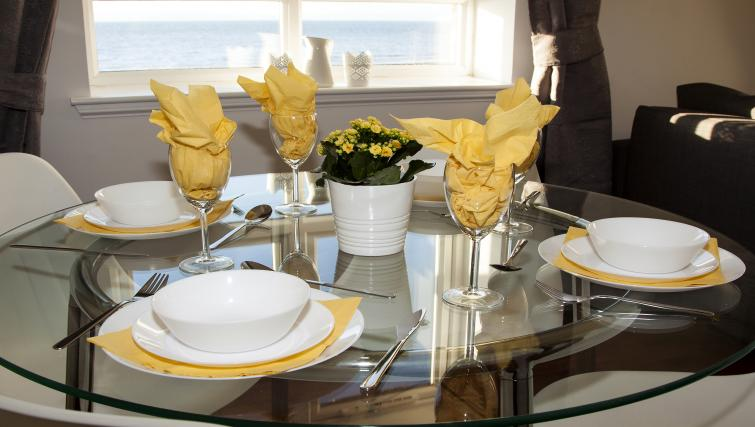Dining area at the No 37 Apartment - Citybase Apartments