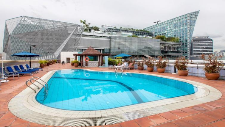 Pool at Orchard Point Serviced Apartments, Singapore - Citybase Apartments