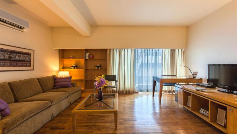 Living area at Orchard Point Serviced Apartments, Singapore - Citybase Apartments
