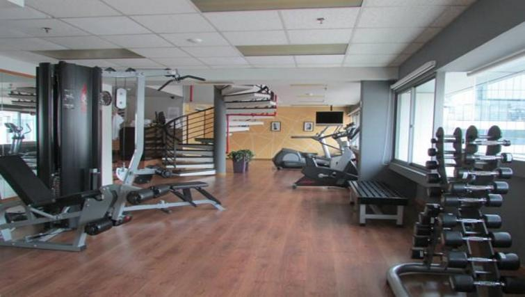 Gym at Orchard Point Serviced Apartments, Singapore - Citybase Apartments