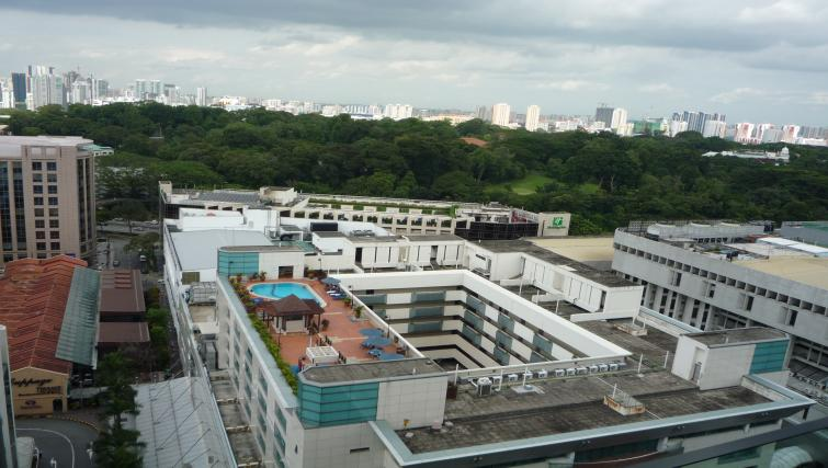 Rooftop at Orchard Point Serviced Apartments, Singapore - Citybase Apartments