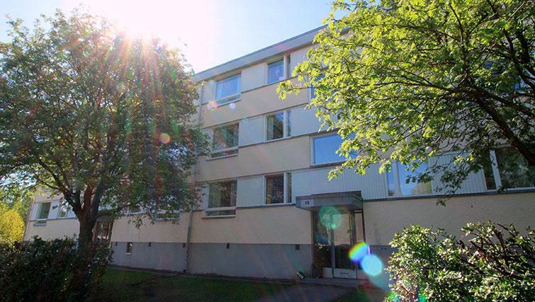 Exterior of Vähäntuvantie Apartment - Citybase Apartments