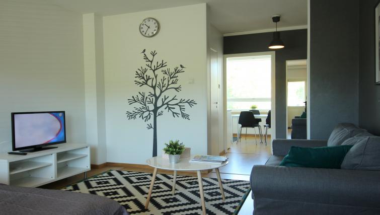 Living area at Vähäntuvantie Apartment - Citybase Apartments