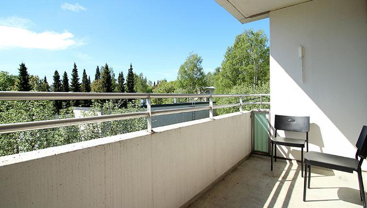 Balcony at Vähäntuvantie Apartment - Citybase Apartments