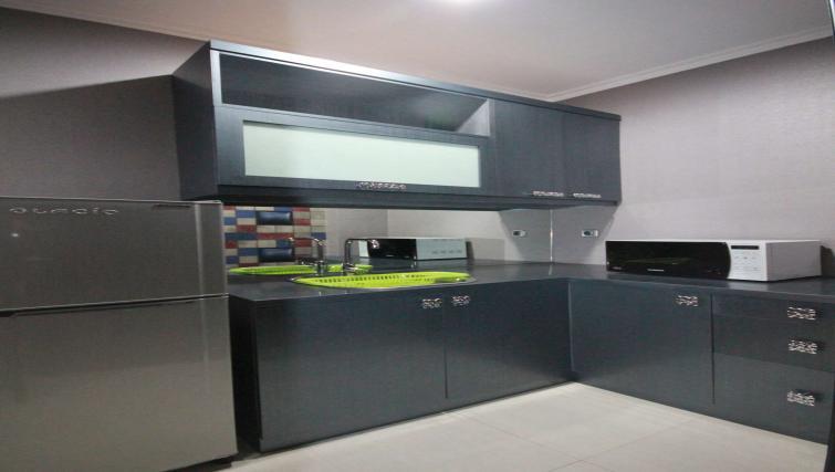 Kitchen at Harvia Suites - Citybase Apartments